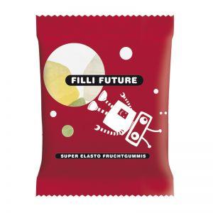 10 g HARIBO Mini-Häuser Fruchtgummi im Werbetütchen mit Logodruck
