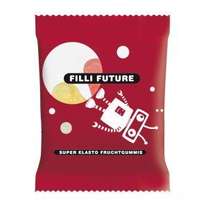 10 g HARIBO Mini-Schnuller Fruchtgummi im Werbetütchen mit Logodruck