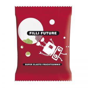 10 g HARIBO Mini-Tropi-Frutti Fruchtgummi im Werbetütchen mit Logodruck