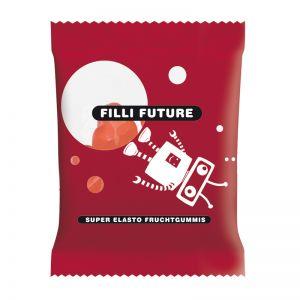10 g HARIBO rote Mini-Herzen Fruchtgummi im Werbetütchen mit Logodruck