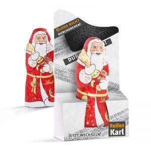 10 g Lindt-Weihnachtsmann mit Werbedruck