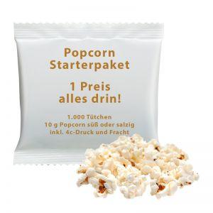 10 g Popcorn süß oder salzig 4c Starterpaket