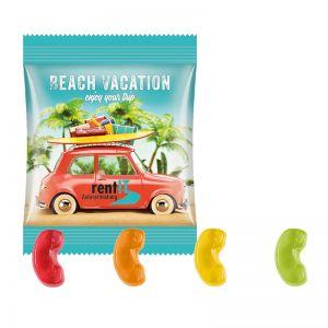 10 g Trolli Fruchtgummi Telefonhörer im Werbetütchen mit Logodruck