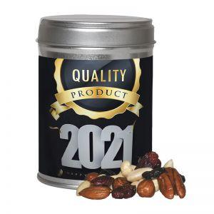 100 g Premium Studentenfutter in Dual-Dose mit Werbe-Etikett