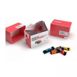 120 g Lindt HELLO Mini Sticks in nachhaltiger Werbebox