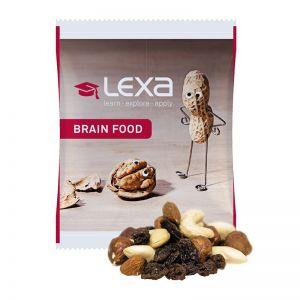 15 g Erdnuss-Studentenfutter im Werbetütchen mit Logodruck