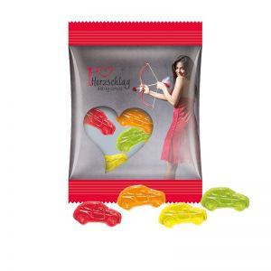 15 g Trolli Fruchtgummi Autos im Werbetütchen mit Logodruck