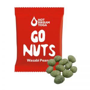 15 g Wasabi Crispers im Werbetütchen mit Logodruck