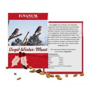 20 g Vogelfutter-Tütchen mit Werbedruck