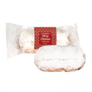 200 g Gourmet-Stollen mit Merry Christmas Standardmotiv