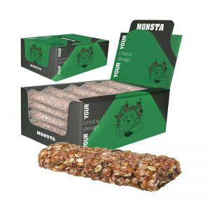 25 x 30 g Bio Müsliriegel Multikorn Himbeere in individueller Displaybox