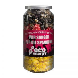 30 g Crazy Popcorn Deutschland Edition mit Banderole und Logodruck