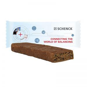 33 g Chia-Kokos Stevia-Riegel im Flowpack mit Werbedruck