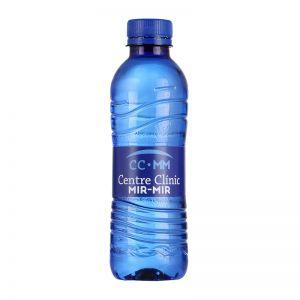 330 ml  Blaue Wasserflasche mit Logodruck