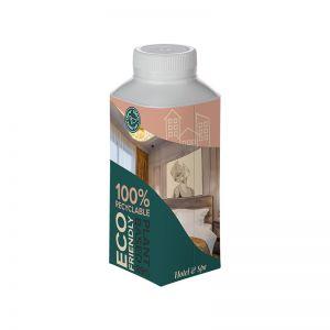 330 ml Tafelwasser im Tetra-Pak mit indivdiuellem Vollflächendruck