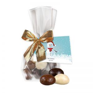 35 g Weihnachtscookies im Flachbeutel mit Werbekarte