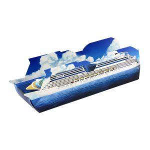 3D Adventskalender Kreuzfahrtschiff individuell bedruckt