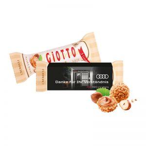 3er GIOTTO im Werbeschuber mit Werbedruck