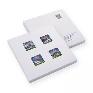 4 er Mailing Plätzchen mit Direktdruck