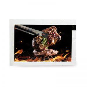 4 g Grillgewürz in Portionstüte mit Logodruck