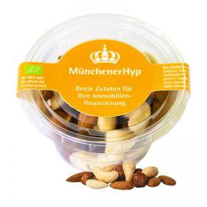 40 g Bio NusskernMix im Öko-Becher mit Werbeetikett