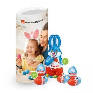 40 g Kinder-Ostermischung in Kissenverpackung mit Logodruck