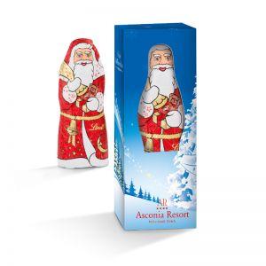 40 g Lindt Weihnachtsmann in einer Werbe-Box