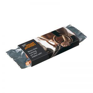 45 g DEXTRO ENERGY Smart Protein Riegel Crispy Bar Chocolate im Werbeschuber