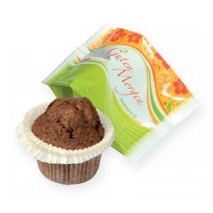 45 g Schoko-Muffin in Folie mit Werbedruck