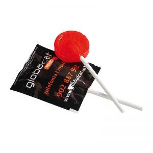 5 g Frucht-Lolli mit Folie und all-over Druck