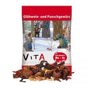 5 g Glühweingewürz in Werbetüte mit Logodruck