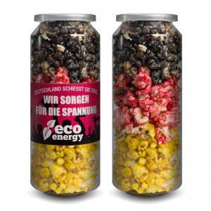 50 g Crazy Popcorn Deutschland Edition mit Banderole und Logodruck