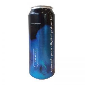 500 ml Energy-Drink Dose mit Logodruck