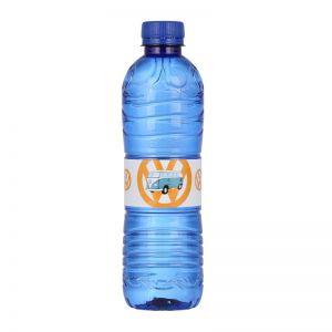 500ml Blaue Wasserflasche mit Logodruck