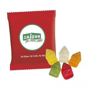 6,5 g HARIBO Mini-Häuser Fruchtgummi im Werbetütchen mit Logodruck