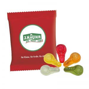 6,5 g HARIBO Mini-Schnuller Fruchtgummi im Werbetütchen mit Logodruck