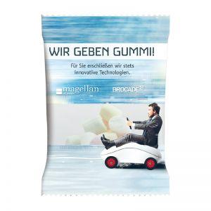 6 g HARIBO Mini Chamallows im Werbetütchen mit Logodruck