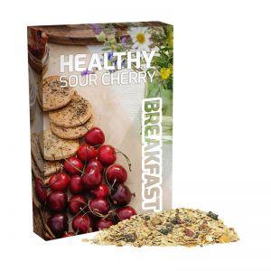 60 g Bio Müsli Sauerkirsche im Portionskarton mit Werbedruck