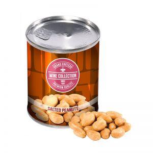 60 g Erdnüsse in einer Dose mit Werbe-Banderole