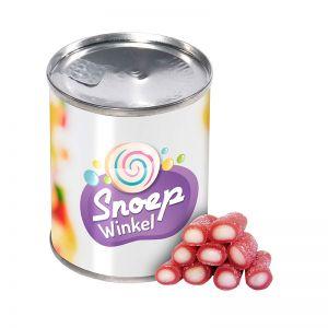 60 g Fruchtige Mini-Sticks in einer Dose mit Werbe-Banderole