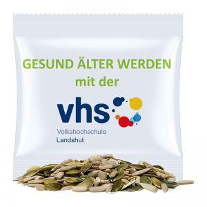 7 g Bio Kürbis-SonnenblumenkernMix im Werbetütchen mit Werbedruck