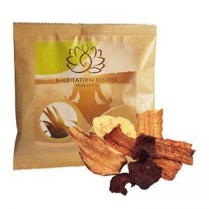 8 g Gemüsechips im Werbetütchen mit Logodruck