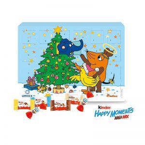 Adventskalender kinder Happy Moments Mini Mix mit Werbedruck