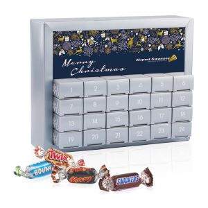 Adventskalender Miniatures Mix Exquisit  mit Werbedruck