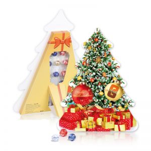 Adventskalender Weihnachtsbaum mit Werbeeindruck