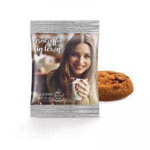 Bahlsen Schokoladen Cookie mit Logodruck