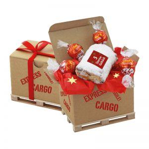 Cargo Box Xmas 1 mit Werbeanbringung