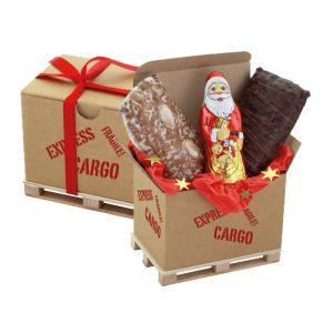 Cargo Box Xmas 3 mit Werbeanbringung