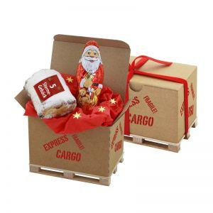 Cargo Box Xmas 4 mit Logodruck