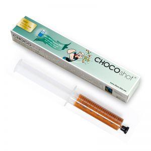 CHOCOshots oral Spritze von zotter mit Logodruck